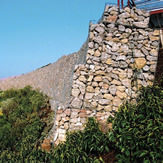 Gabion 3mm – 4.55mm facing zincalu super